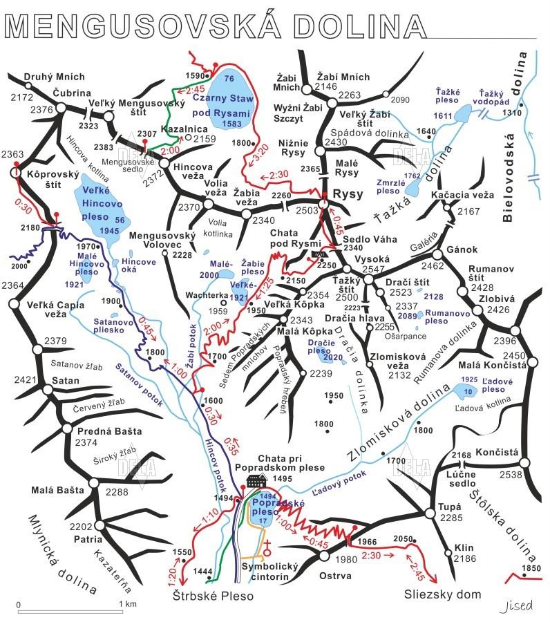 tatra gebirge google maps